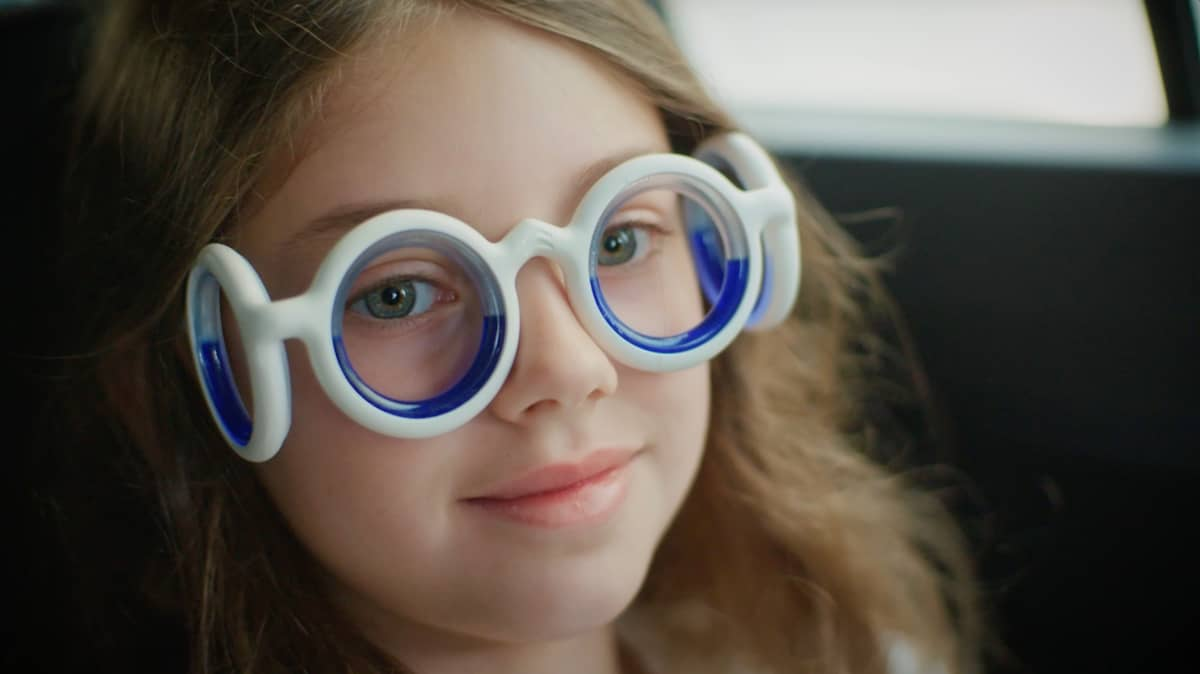 Can glasses cure motion sickness?