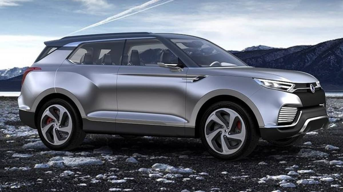 SsangYong XLV Crossover Concept Revealed At Geneva