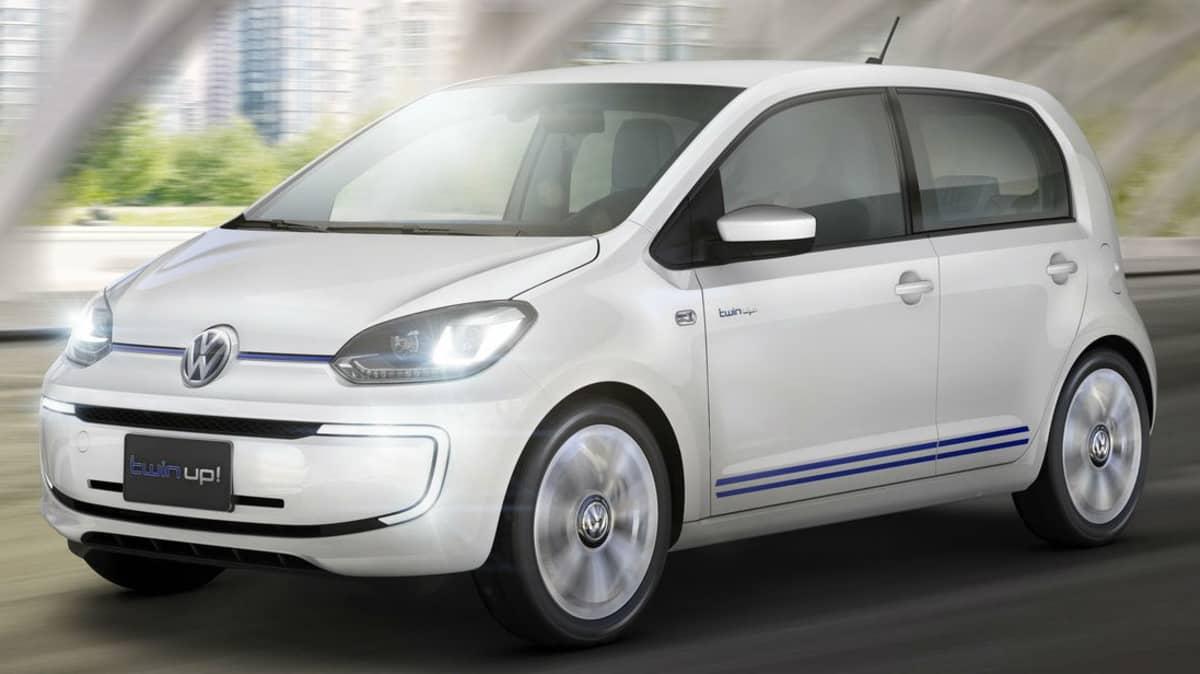 Volkswagen Twin-Up Concept Debuts In Tokyo, With XL1 Powertrain
