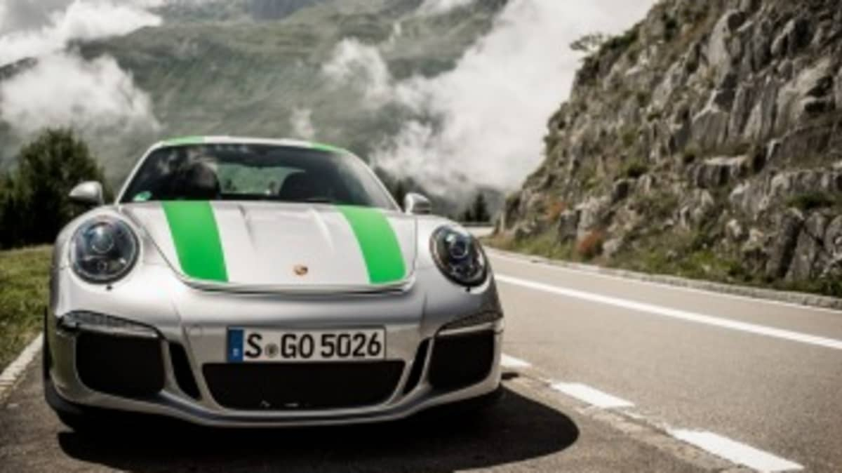 Porsche 911 R feature in Germany. Story by Sam Charlwood