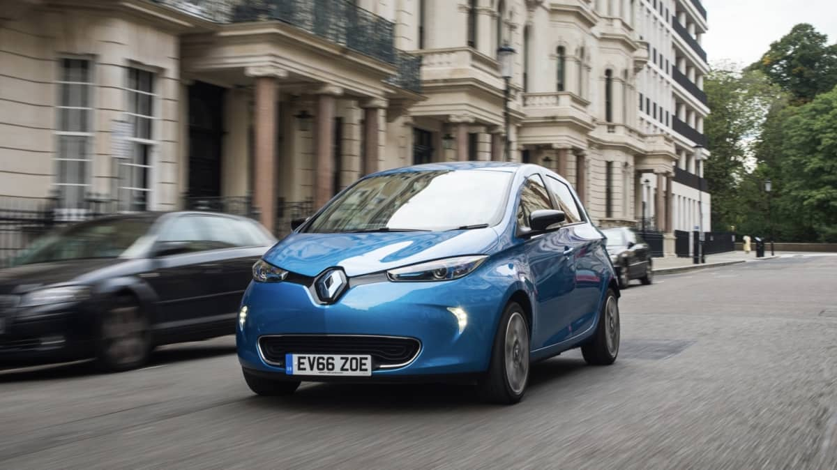 Renault's Zoe electric car is now available to the public.
