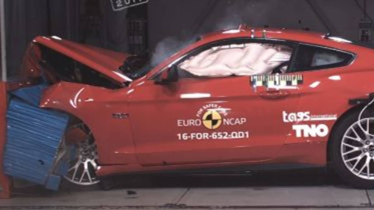 'Shocking' two-star crash result for Ford Mustang