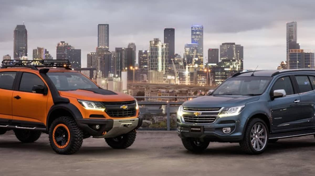 Holden Colorado Facelift:'The Future Face' Of Chevrolet (And Holden)