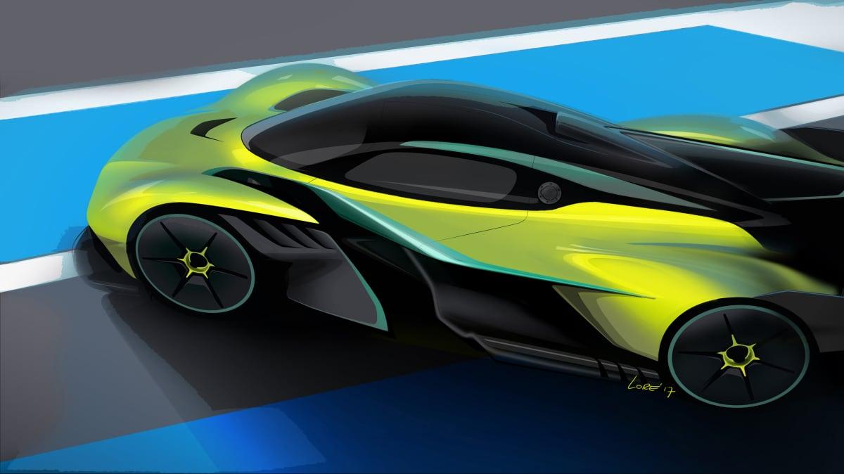 Aston Martin Valkyrie AMR Pro.