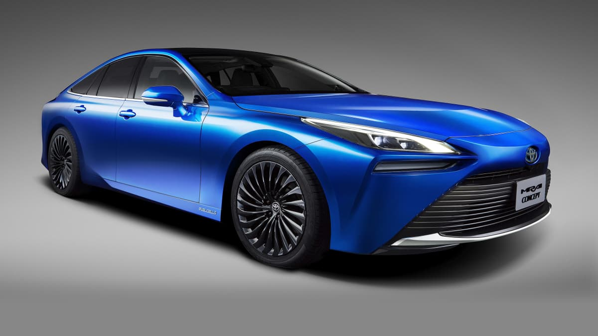 2020 Toyota Mirai concept revealed for Tokyo motor show