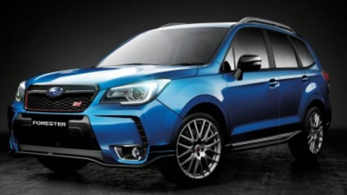 Subaru Forester tS details revealed
