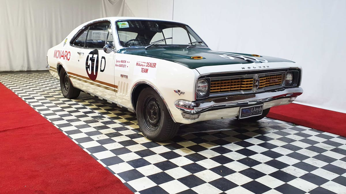 First ever HDT Holden Monaro racing car to go under the hammer