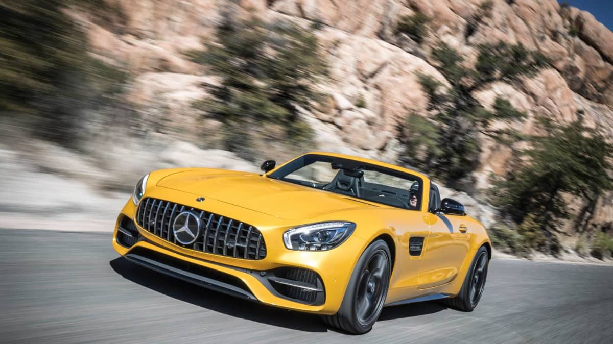 2018 Mercedes-AMG GT Roadster And GT C Coupe Pricing Revealed