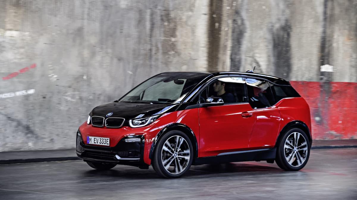 2018 BMW i3.