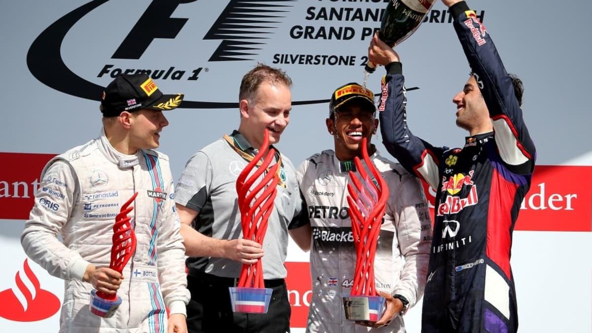 2014 British F1 GP: Hamilton Strikes Back For Win, Ricciardo Third