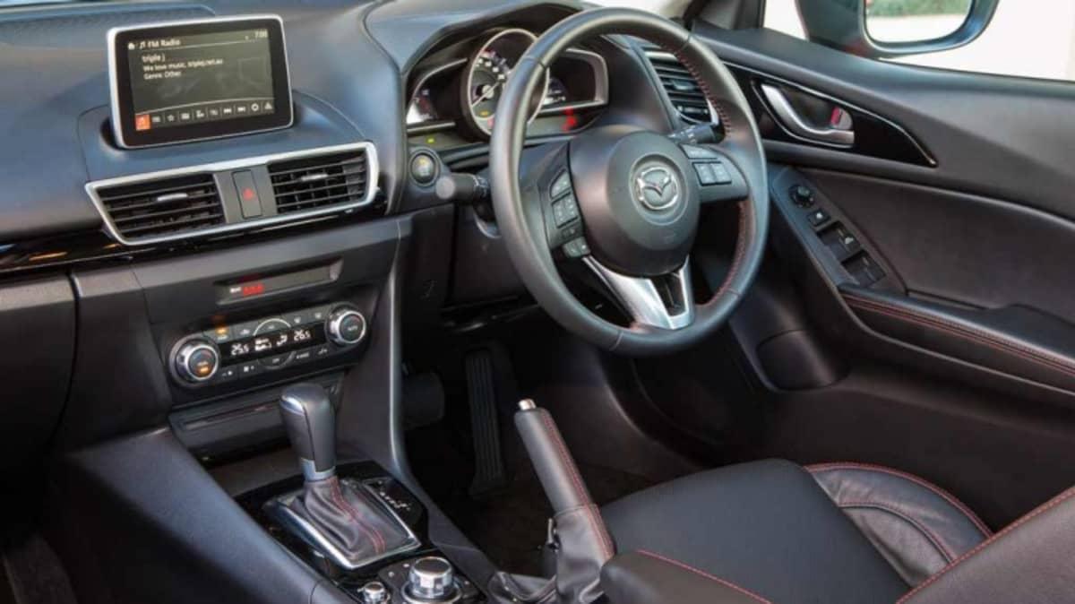 Mazda3 sedan.