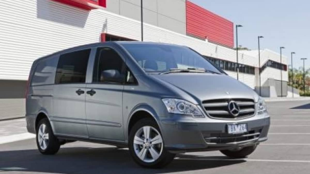 The Mercedes-Benz Vito starts at $42,990.