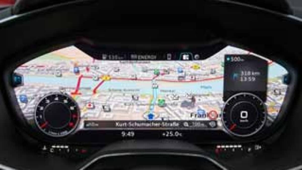 Audi TT revolutionises the cockpit
