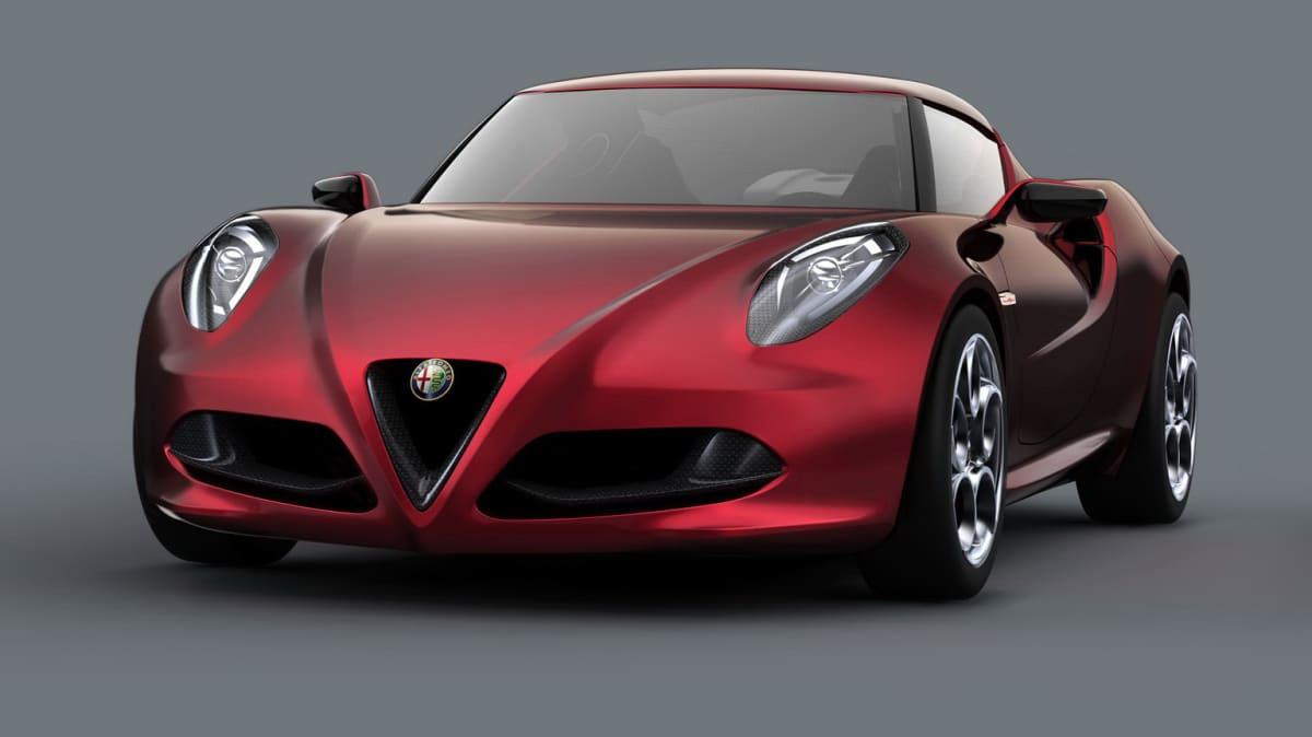 Alfa Romeo 4C Takes Design Award At Conocorso d'Eleganza Villa D'Este