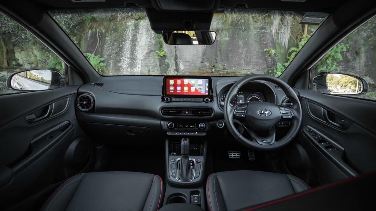2021 Hyundai Kona N Line v Toyota C-HR GR Sport comparison-3