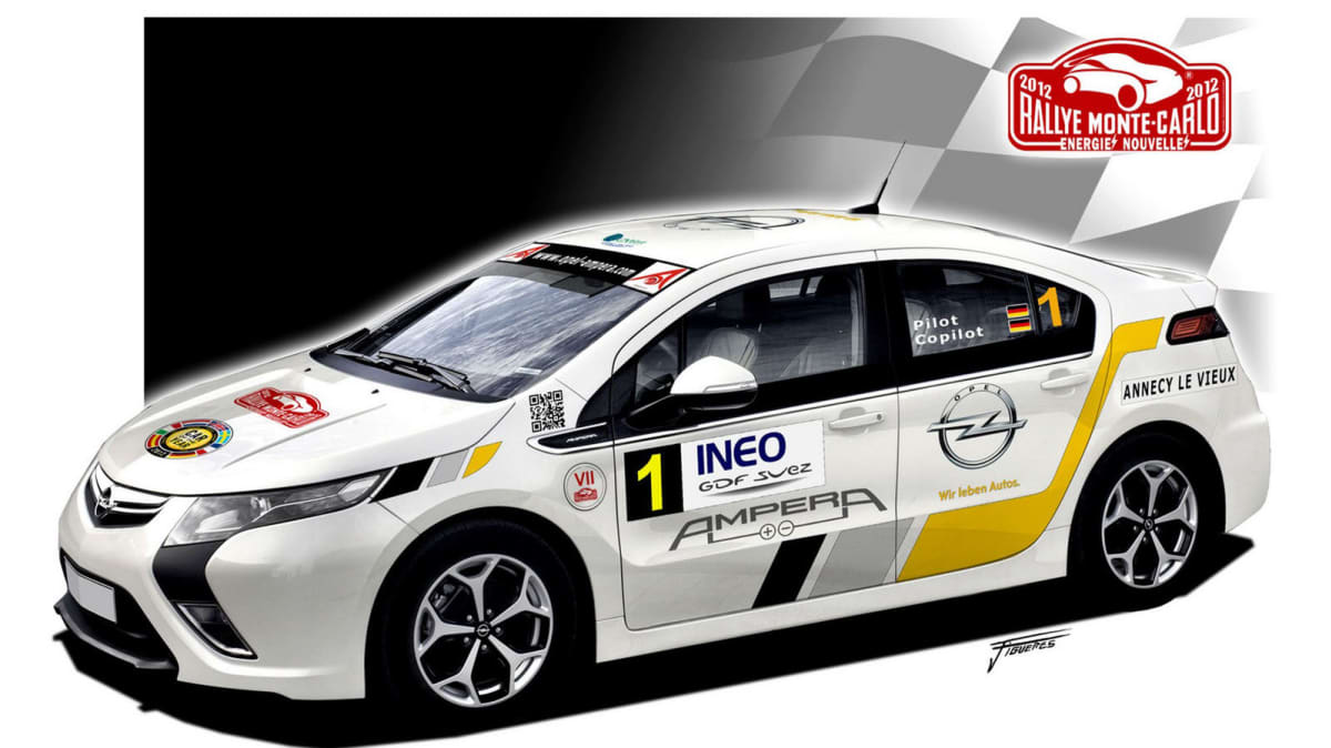 Opel Ampera Sets Out To Shock The Rally World