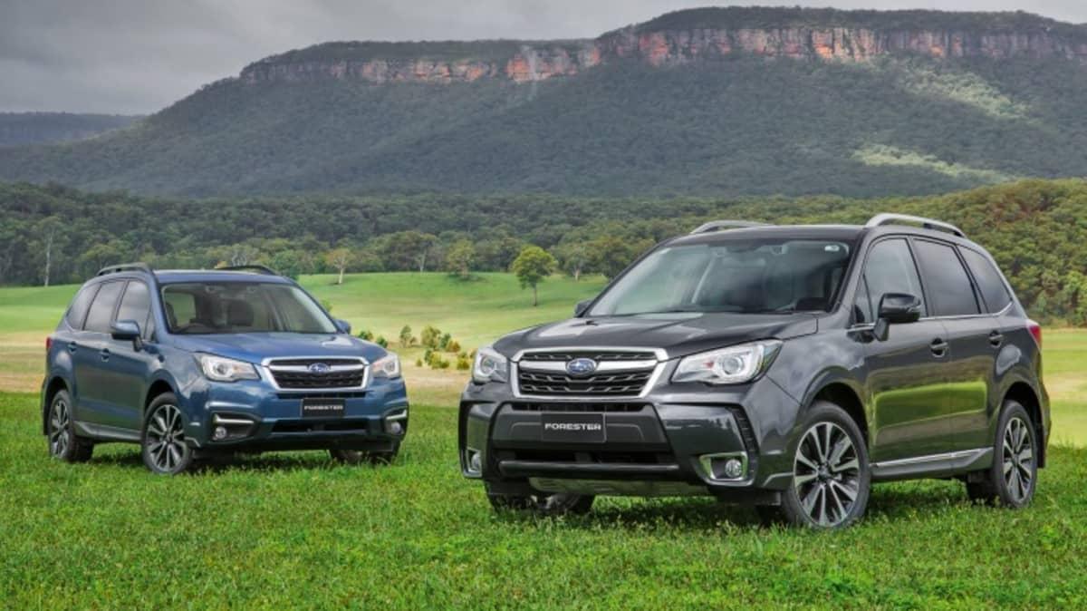 2016 Subaru Forester.