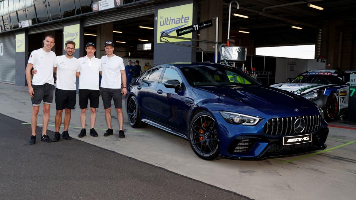 Mercedes-AMG GT 4-door hits Australia