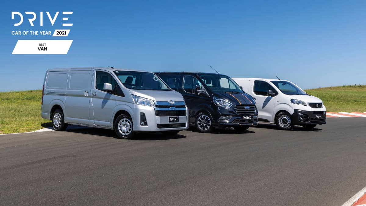 Drive Car of the Year Best Van 2021 finalists group photo