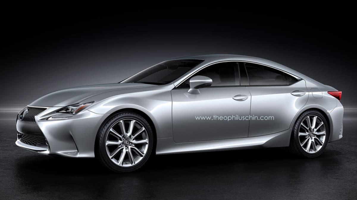 Lexus RC GT Rendered, Brings Four-Door Coupe Style To Lexus