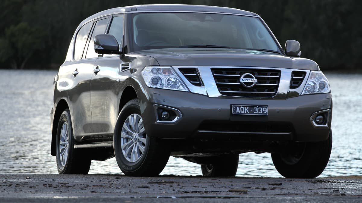Nissan has updated its Patrol four-wheel-drive for 2018.