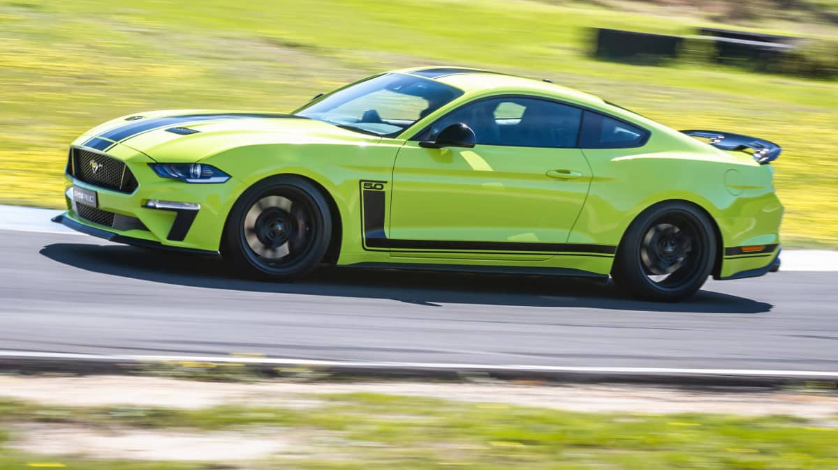 2020 Ford Mustang R-Spec review: Track test-3