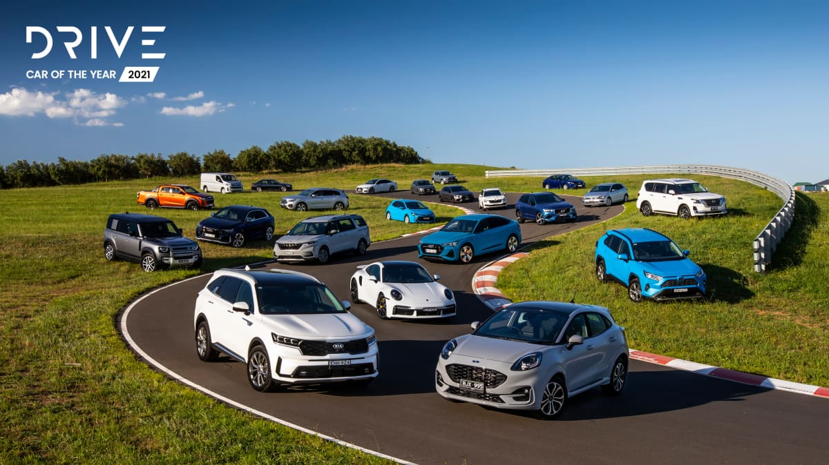 Drive Car of the Year 2021 group photo