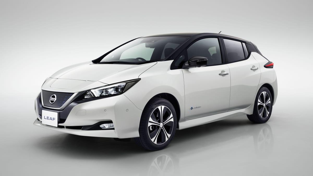 2018 Nissan Leaf.