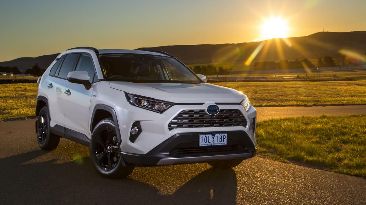 Drive Car of the Year 2020 finalist Toyota Rav4 Hybrid