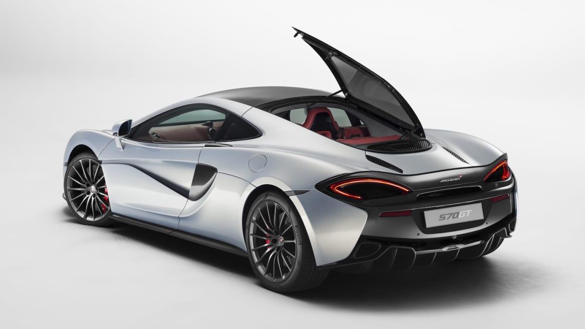 McLaren Reveals Its Practical Side With New 570GT