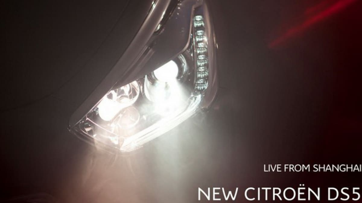 Citroen DS5 To Debut At Shanghai