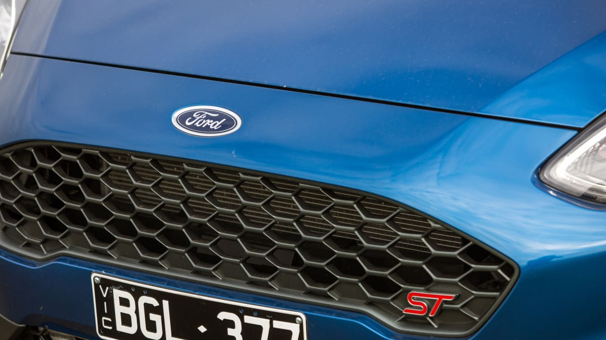 Drive Car of the Year Best Sports Car Under $100k finalist Ford Fiesta ST grille