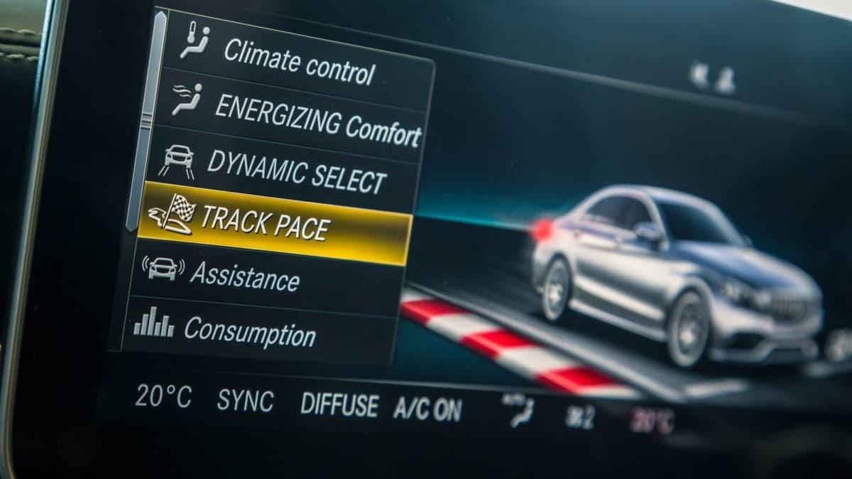 Mercedes-AMG C63 Track Test-1