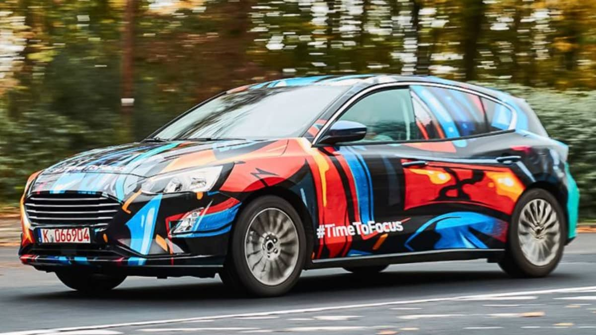 Ford To Reveal New Focus In April