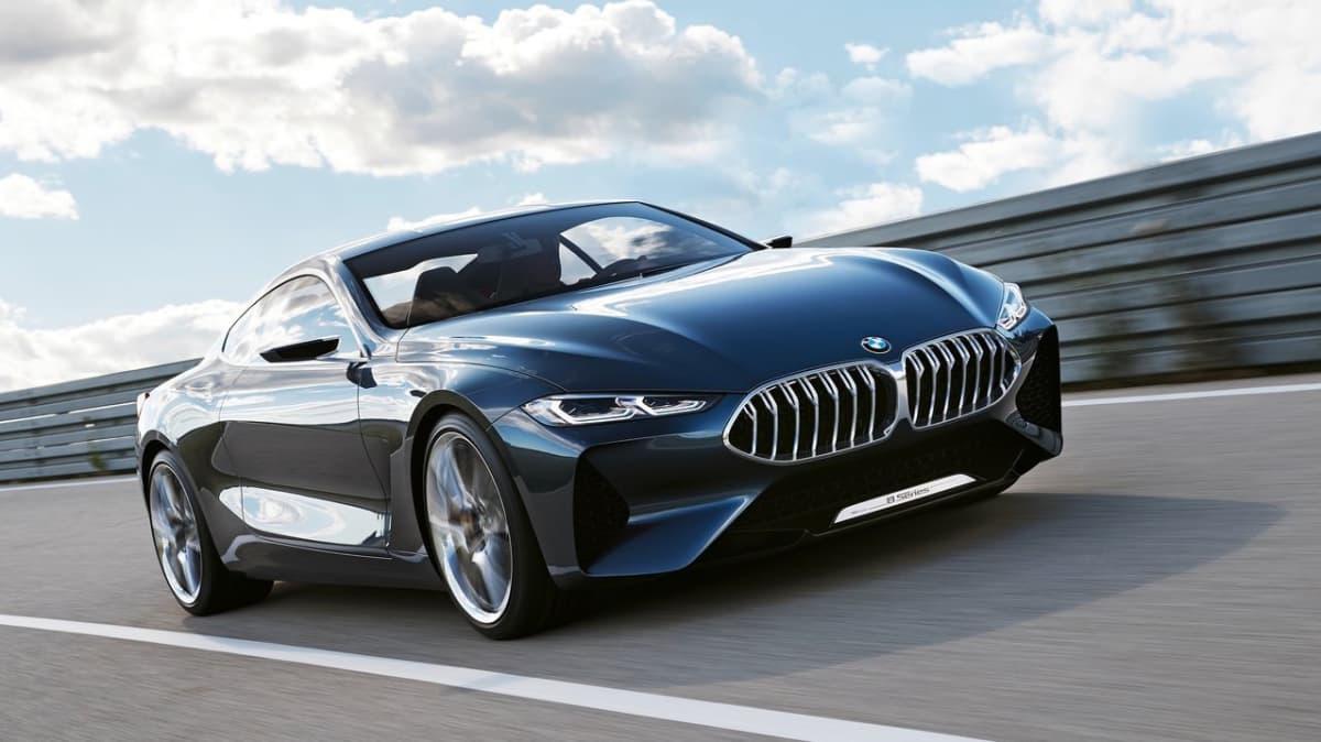 BMW Reveals Concept 8 Series