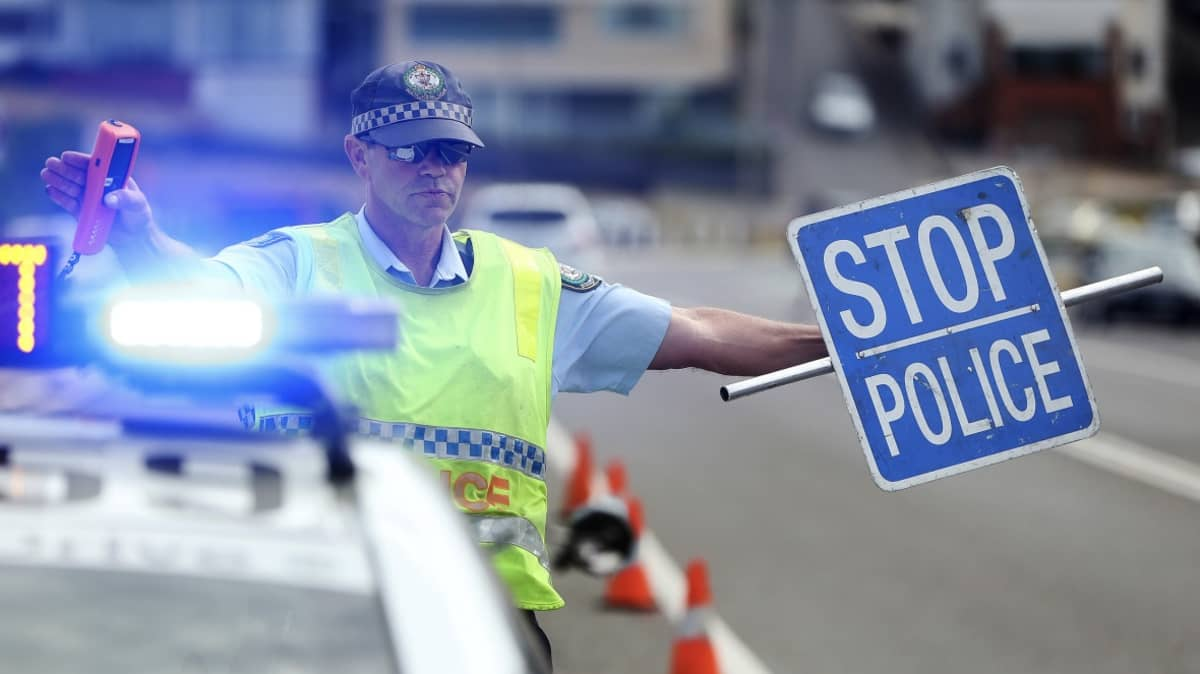 New laws in NSW require drivers to slow down near emergency services.