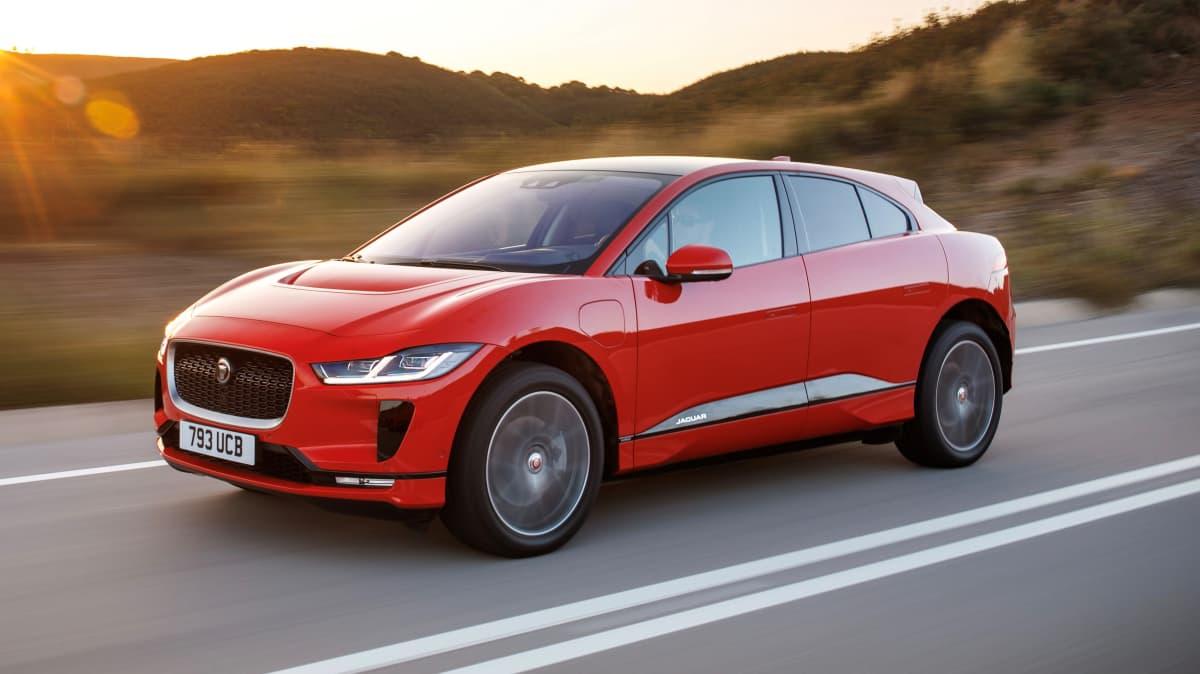 2018 Jaguar I-Pace.