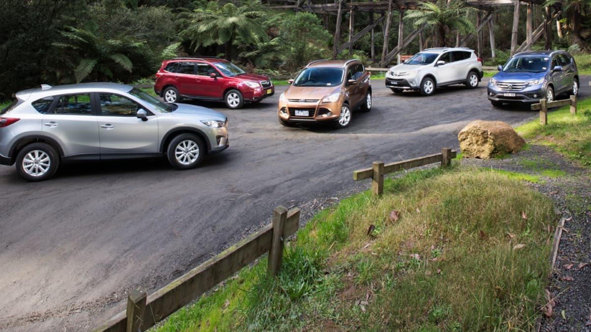 2013 Medium SUV Comparison Review: Kuga, CR-V, CX-5, Forester, RAV4
