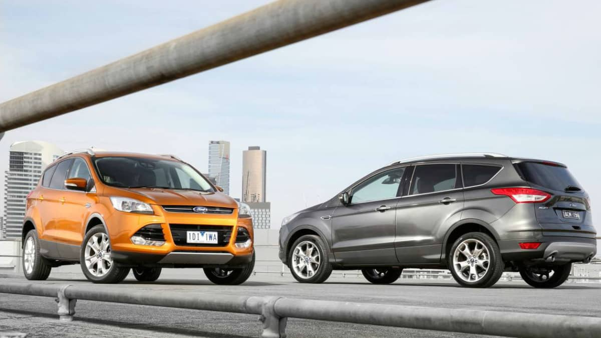 Ford Kuga - 2016 Update Includes SYNC2 And Standard Reverse Camera
