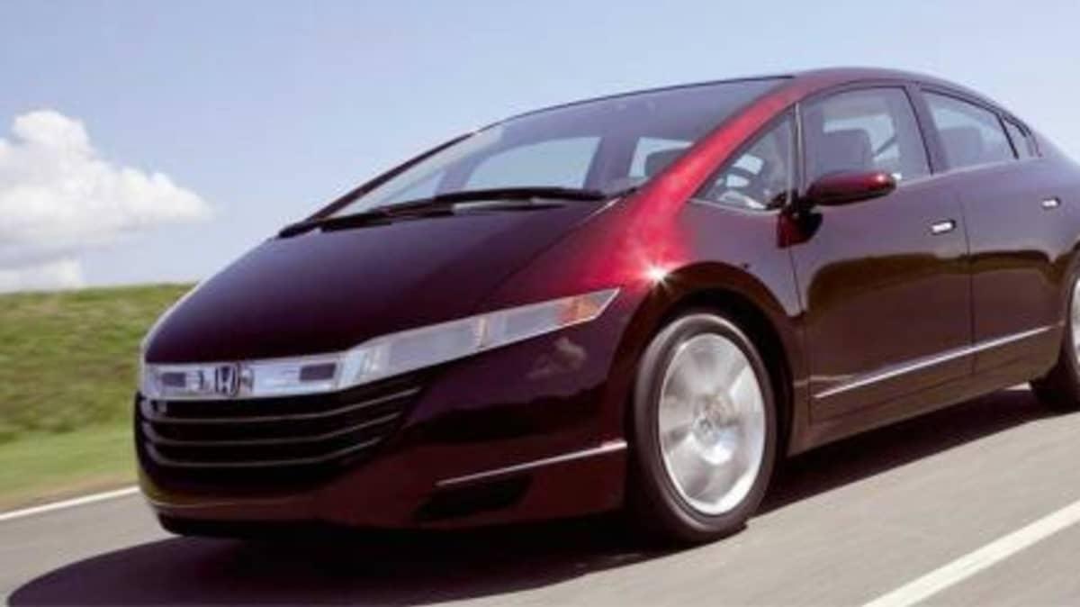 2008 Honda FCX hydrogen fuel cell car