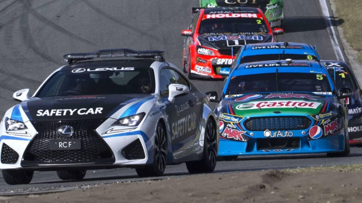Lexus Eyes V8 Supercar Debut - But Not Yet