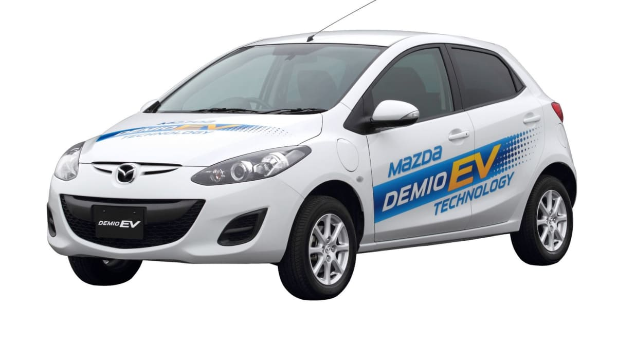 Mazda2 Electric Vehicle Lease Programme Announced For Japan