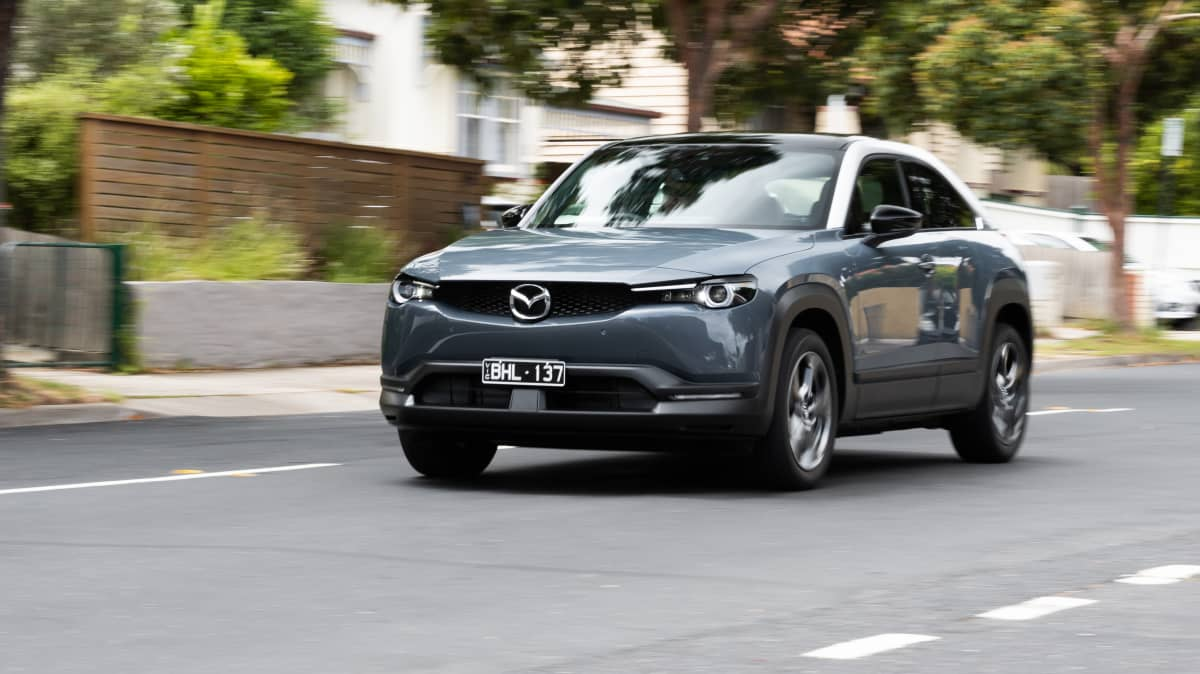 2021 Mazda MX-30 Electric launch review video