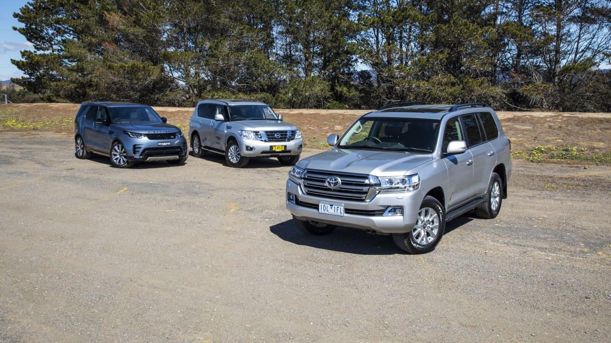 DCOTY 2020 Best Upper Large SUV group shot