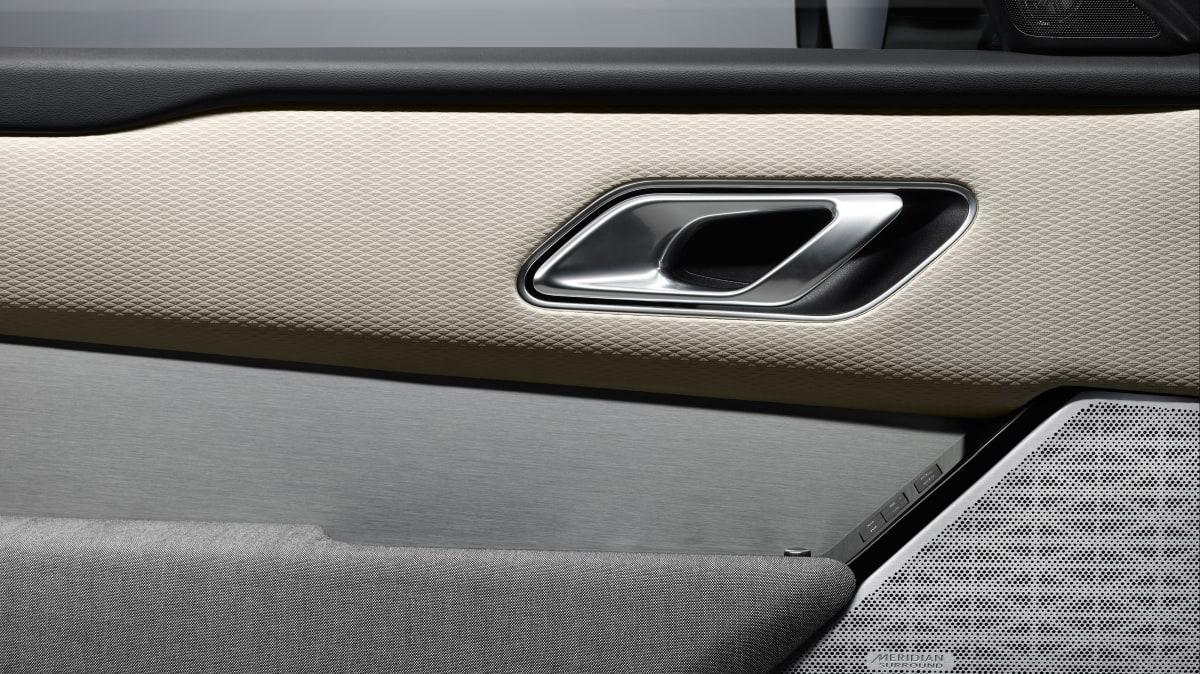 Range Rover has introduced a premium textile interior for the Velar.