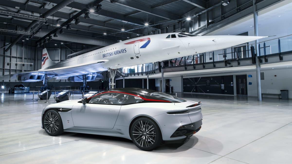Aston Martin DBS Superleggera Concorde Edition unveiled