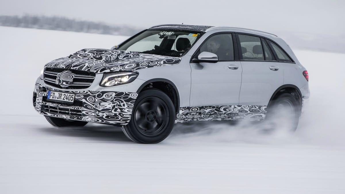 Mercedes-Benz GLC F-Cell Heading To Frankfurt Motor Show