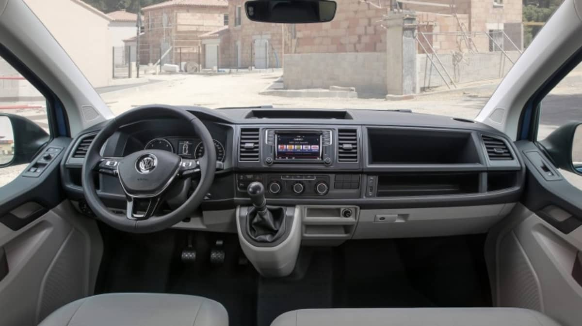 The Volkswagen Transporter's new interior make it a much more tolerable pace to spend time.