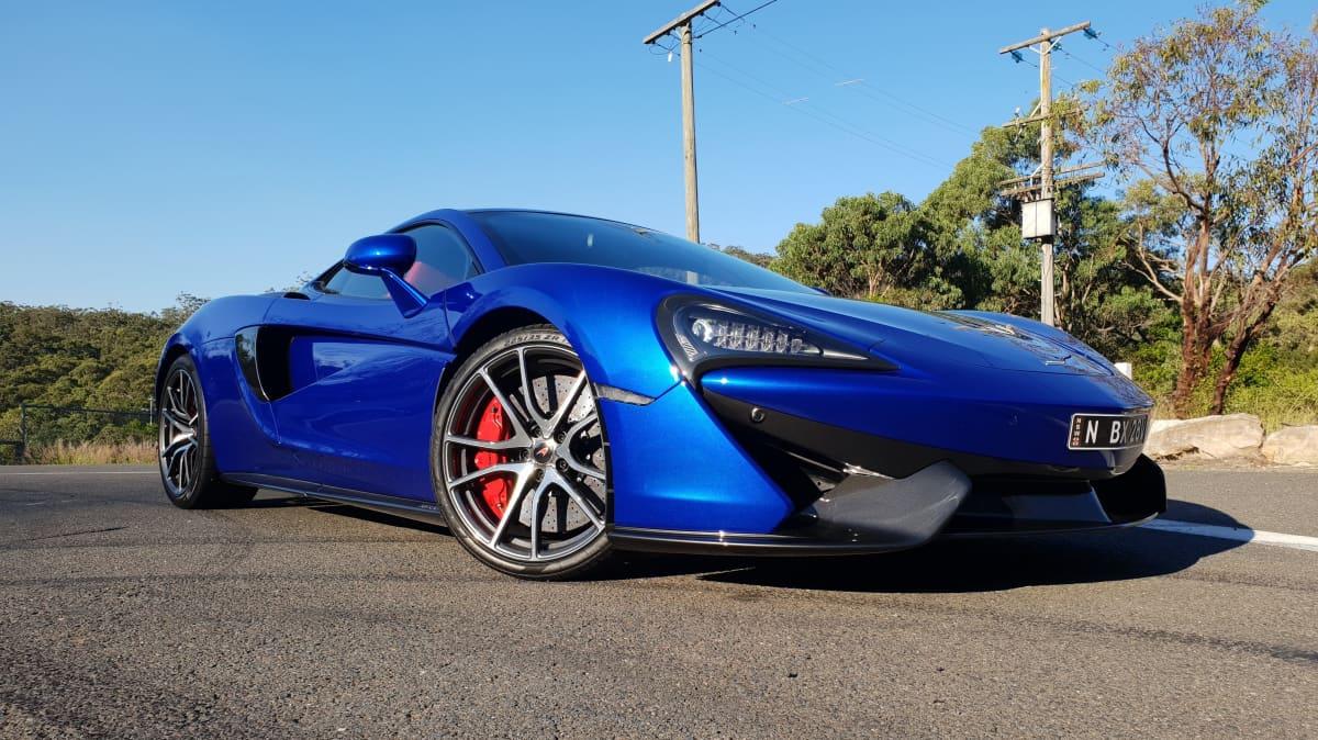 2018 McLaren 570GT.