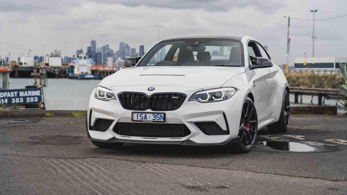 2021 BMW M2 CS manual review-4